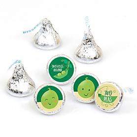 Twins-Two-Peas-Hersheys-Kisses-Sticker-Labels