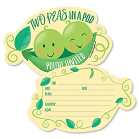 Twins-Two-Peas-Party-Shaped-Fill-In-Invitations